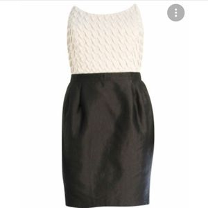 Reiss Two Toned Strapless Cocktail Dress Size 6